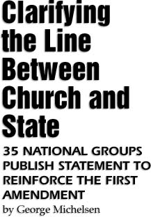 Separation of Church from State