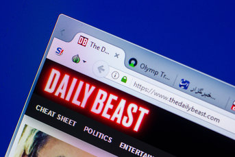 The Daily Beast web browser