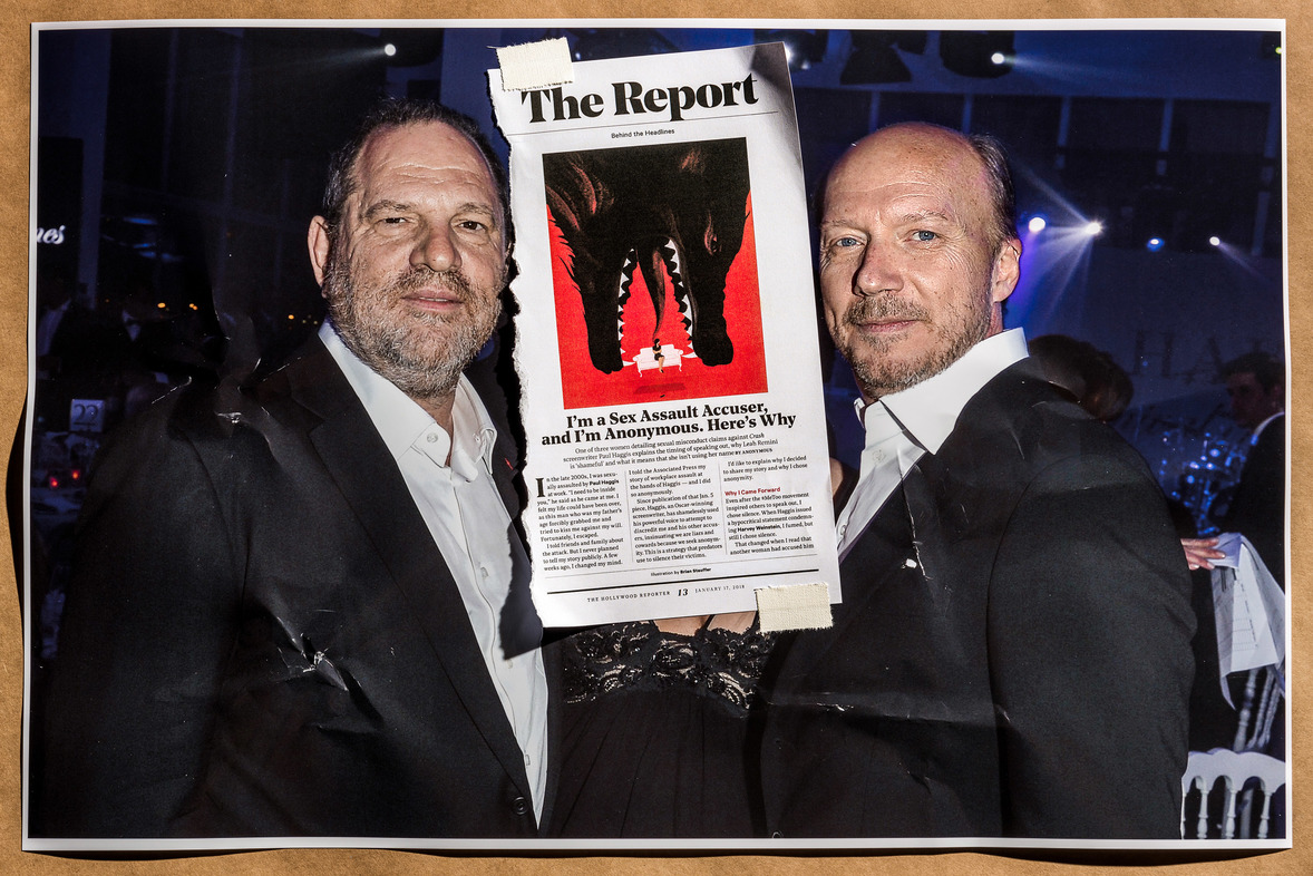 Paul Haggis rape news clippings